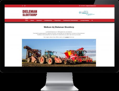 Website afgeleverd aan Dieleman Slootdorp