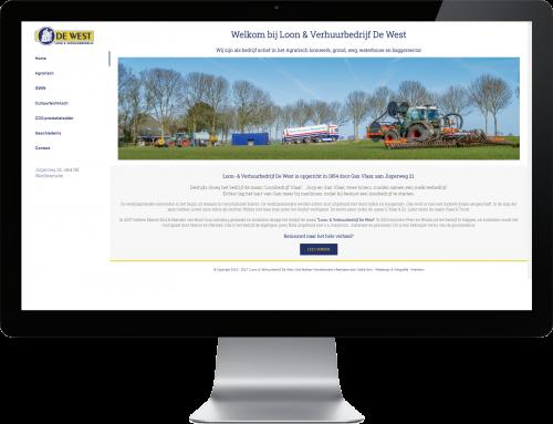 Nieuwe website voor De West